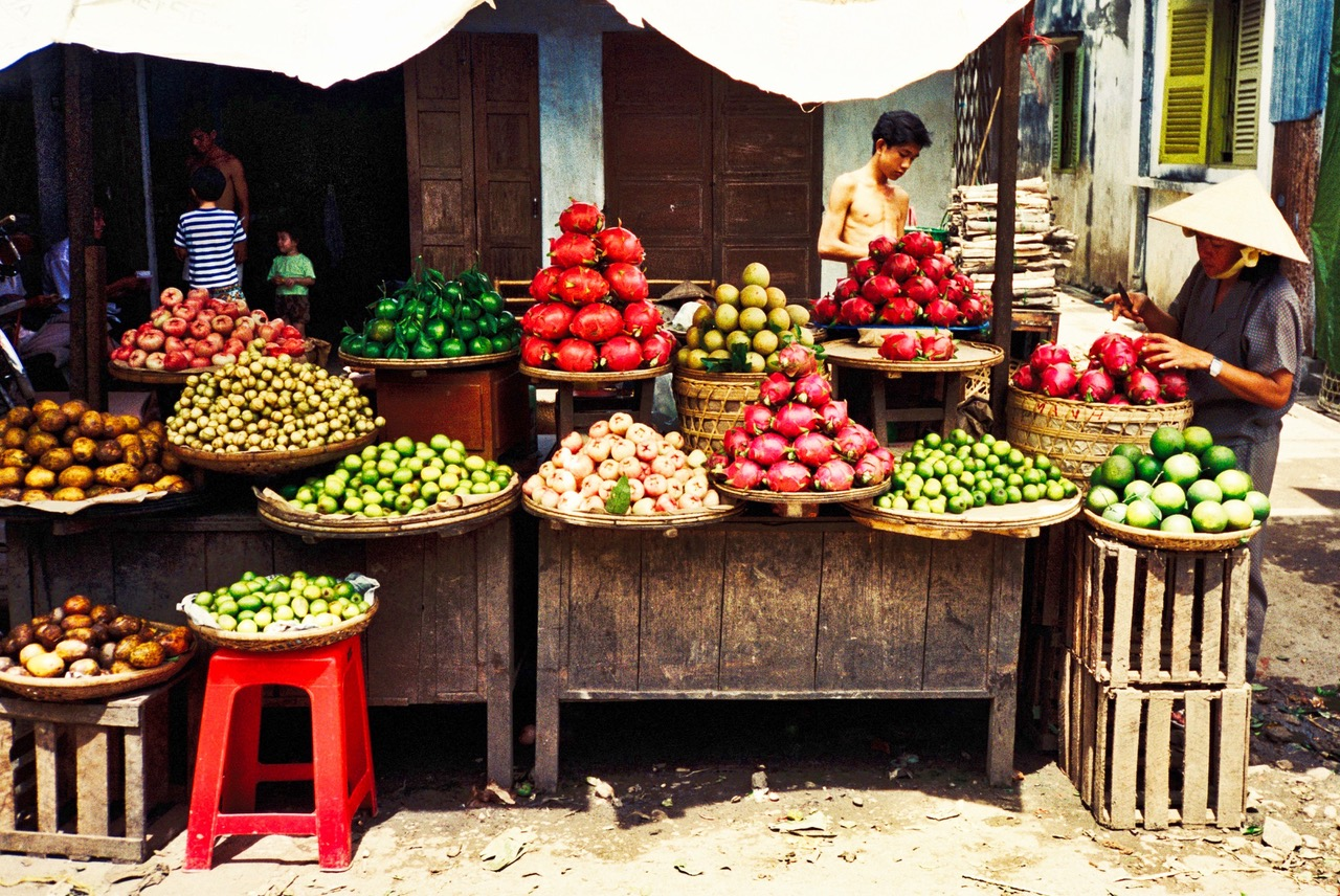 Nha Trang market, Vietnam