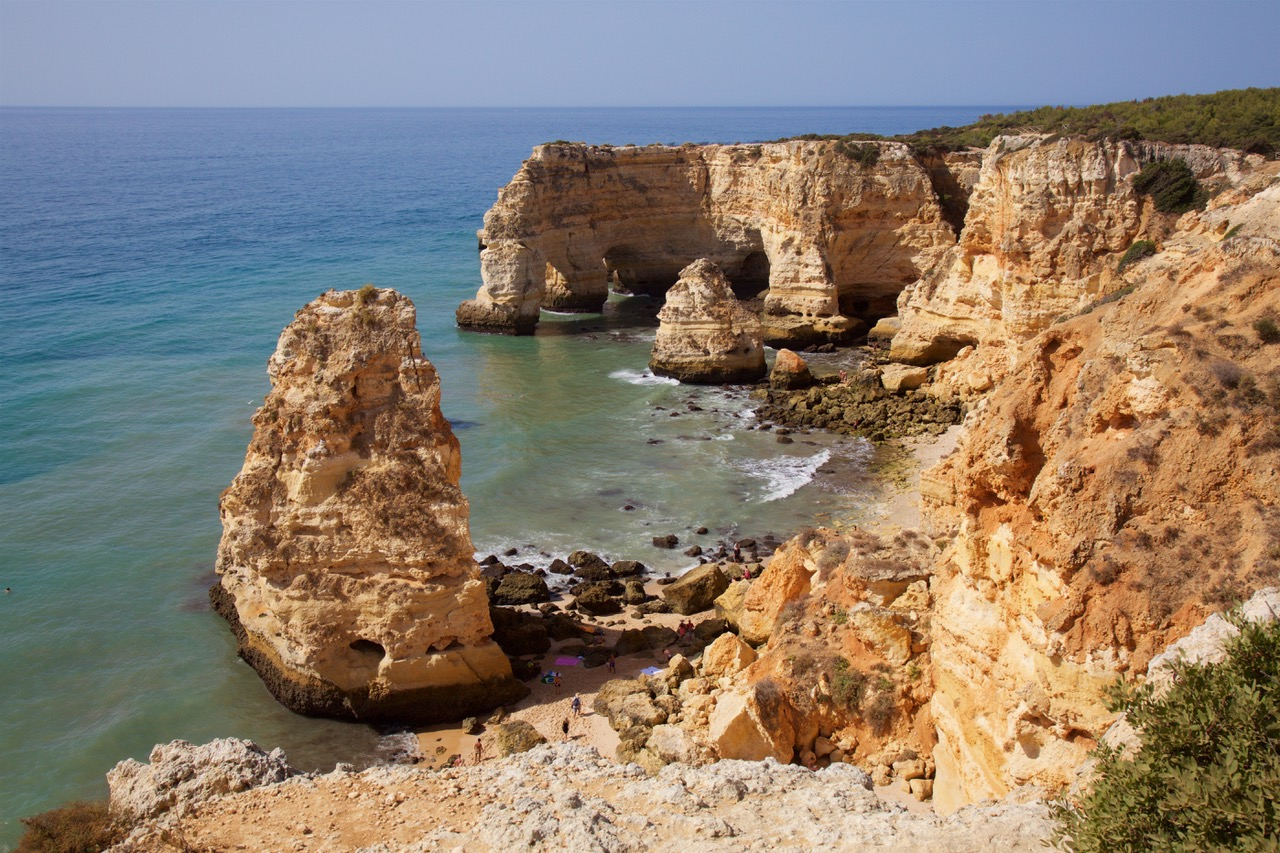 One of best and beautiful beaches in the Algarve, Praia da Marinha