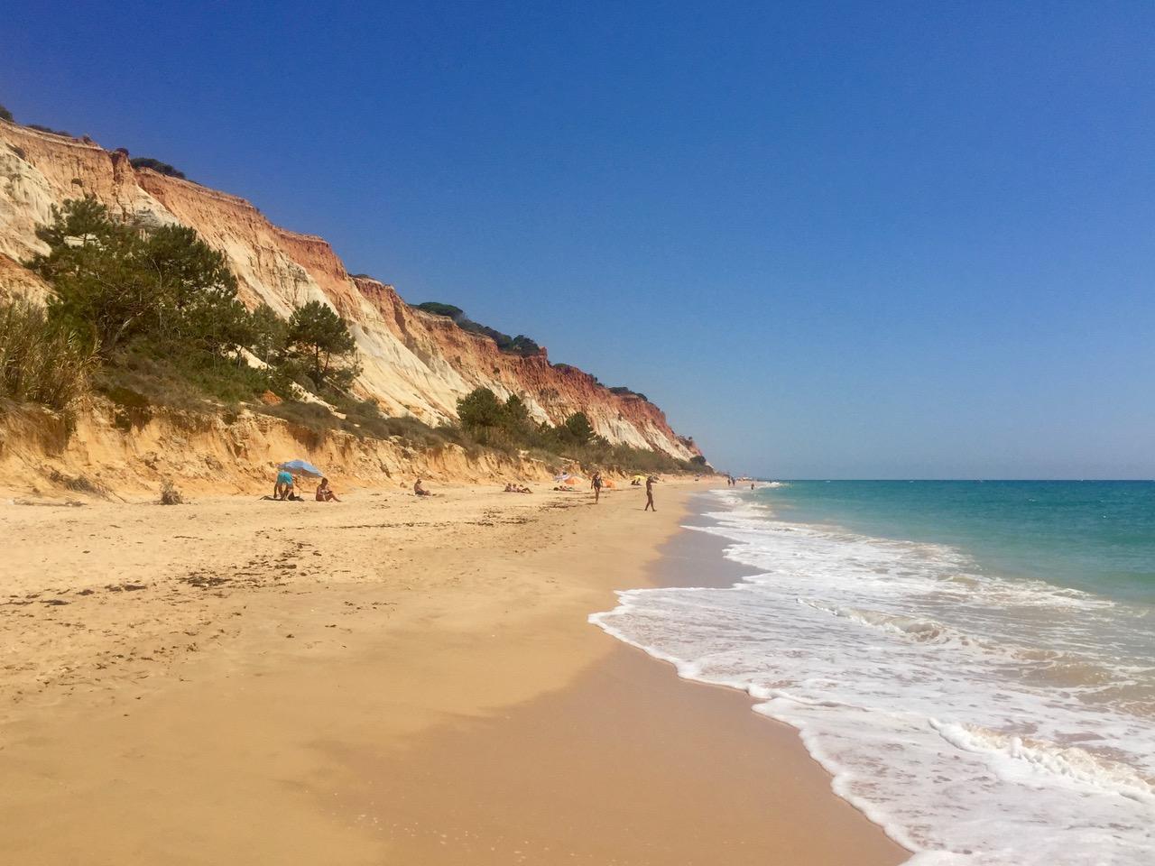 Pine Cliffs beach, Algarve, Portugal