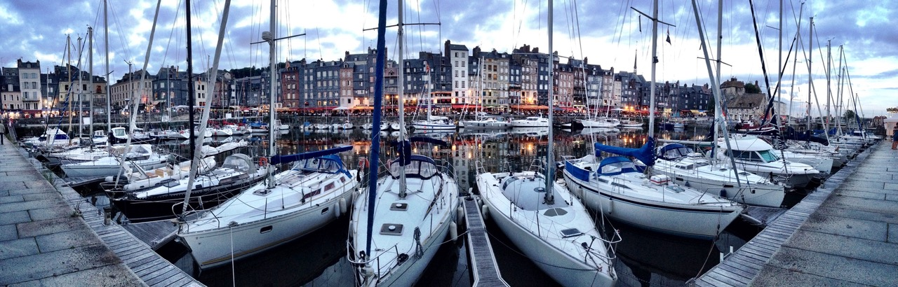 The harbor of Honfleur