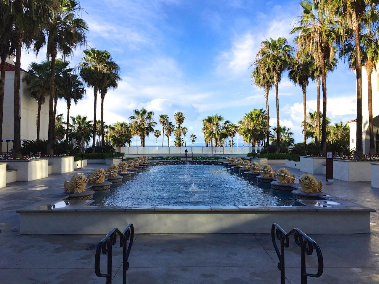 Hyatt Regency pool - Huntington Beach, USA