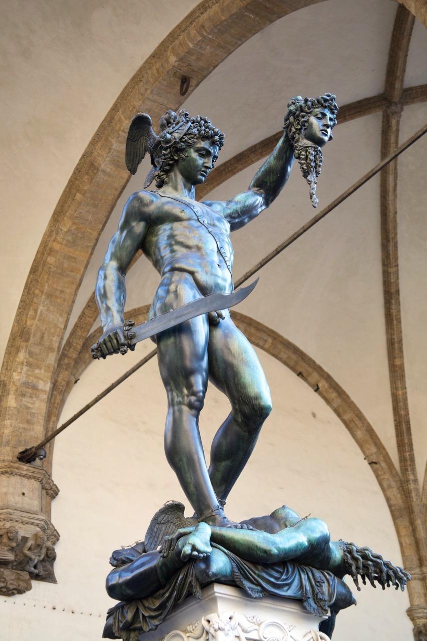 Statue at Piazza della Signoria