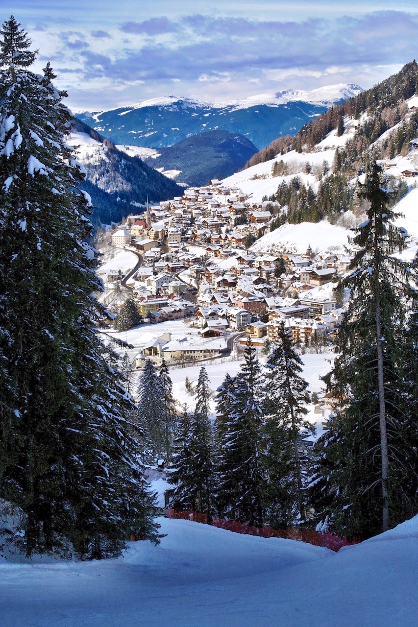 Santa-Cristina Val Gardena Dolomites