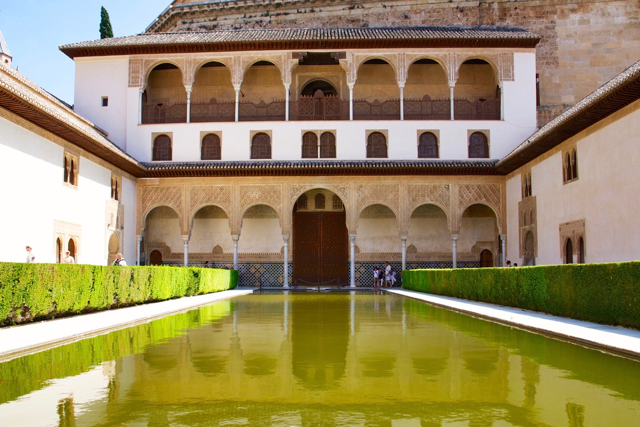 Patio de los Arrayanes at Nasrid Palace, Alhambra, Granada