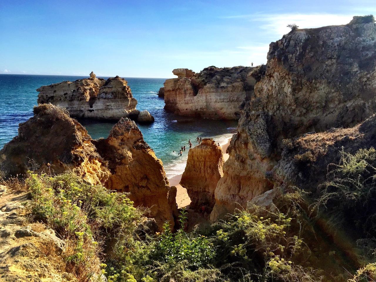 Praia De Sao Rafael, Algarve, Portugal