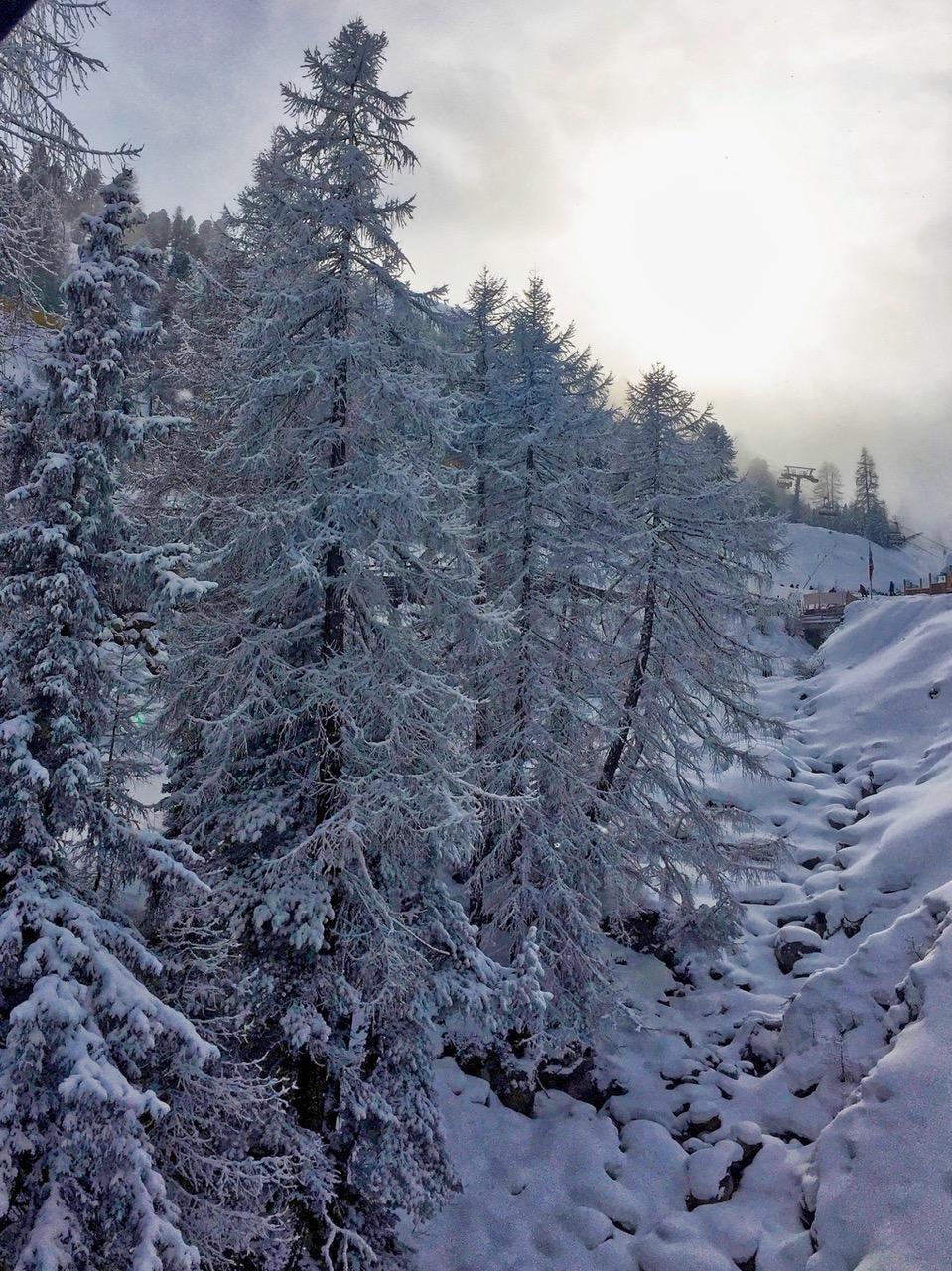 Fresh snow in Sölden