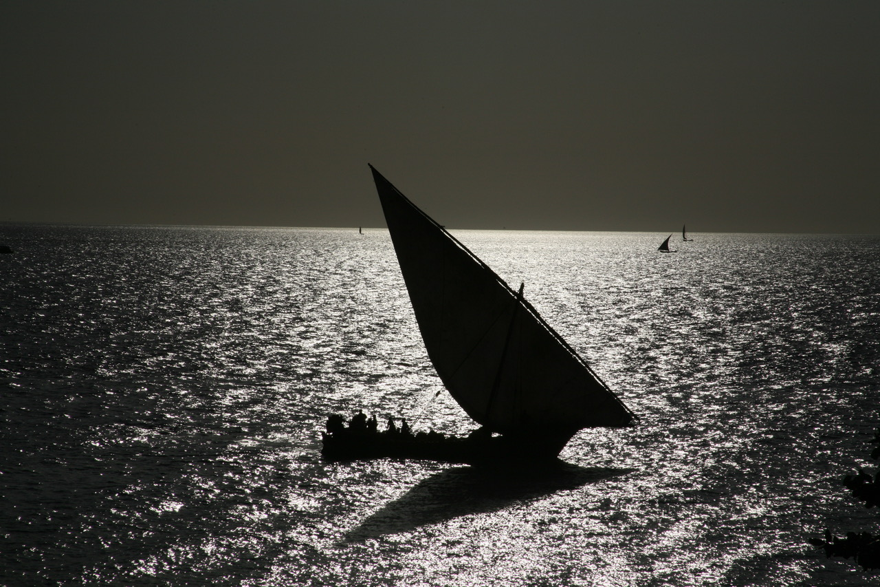 Sunset at Stone Town, Zanzibar