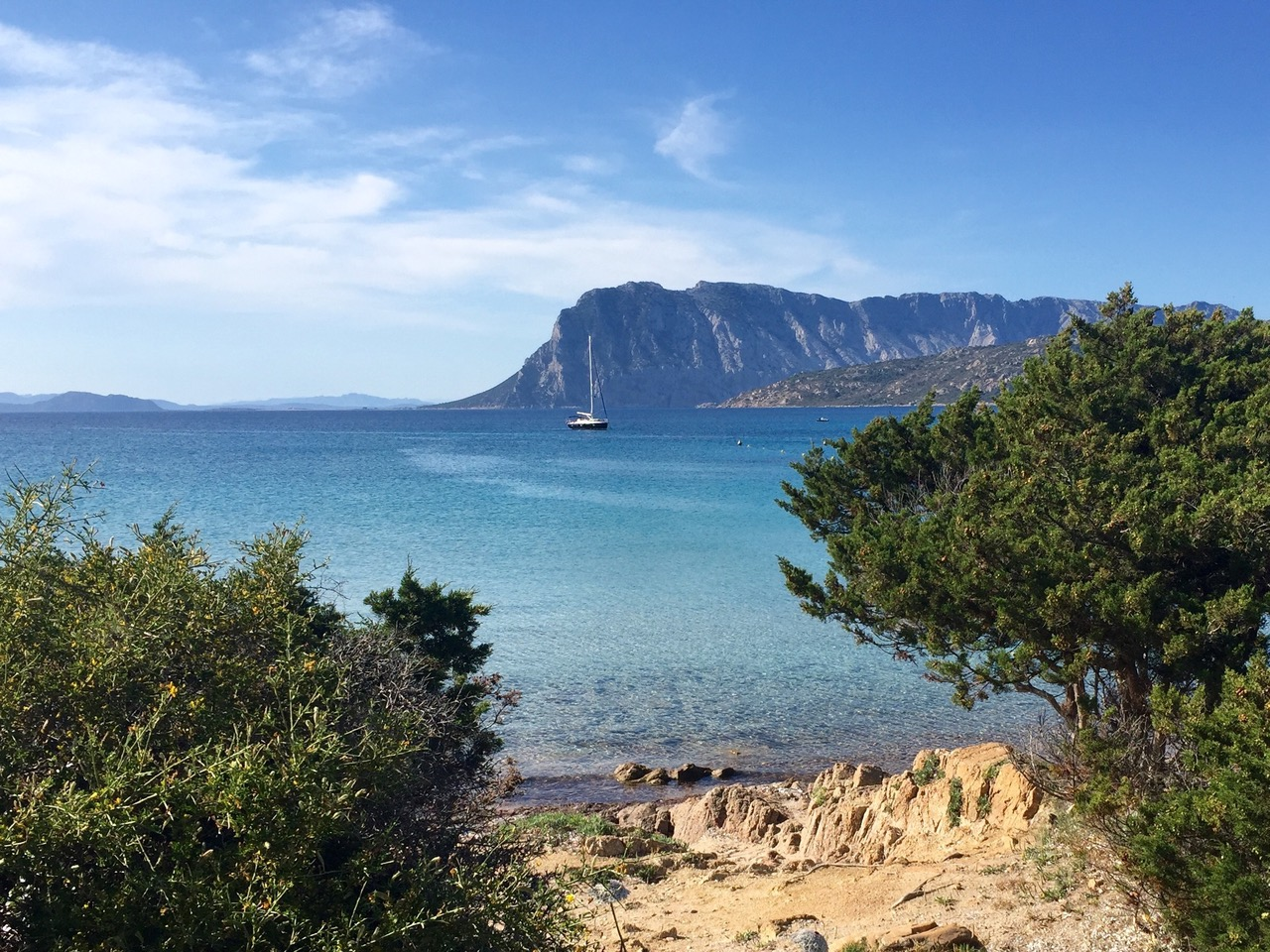 Coastline of Sardinia