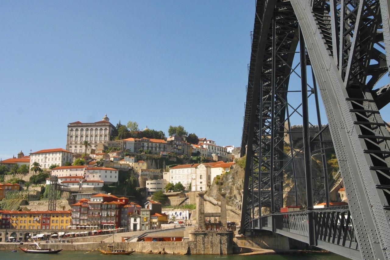 Ponte Luís I in Porto