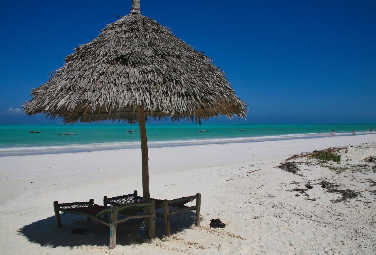 Paradise at Paje Beach, Zanzibar