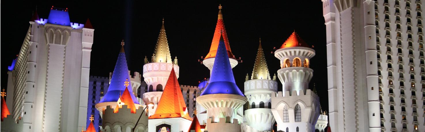 Excalibur Hotel in Las Vegas, USA