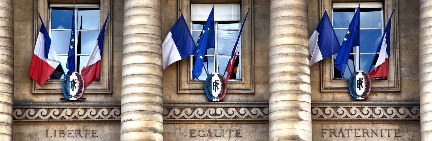 Liberté, Egalité, Fraternité, Paris, France