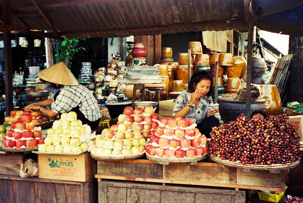 Market in Nha Trang, Vietnam