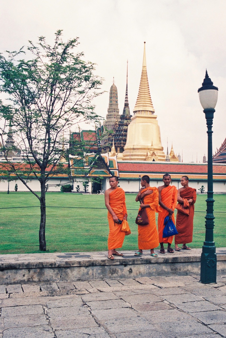 Grand Palace Bangkok monks