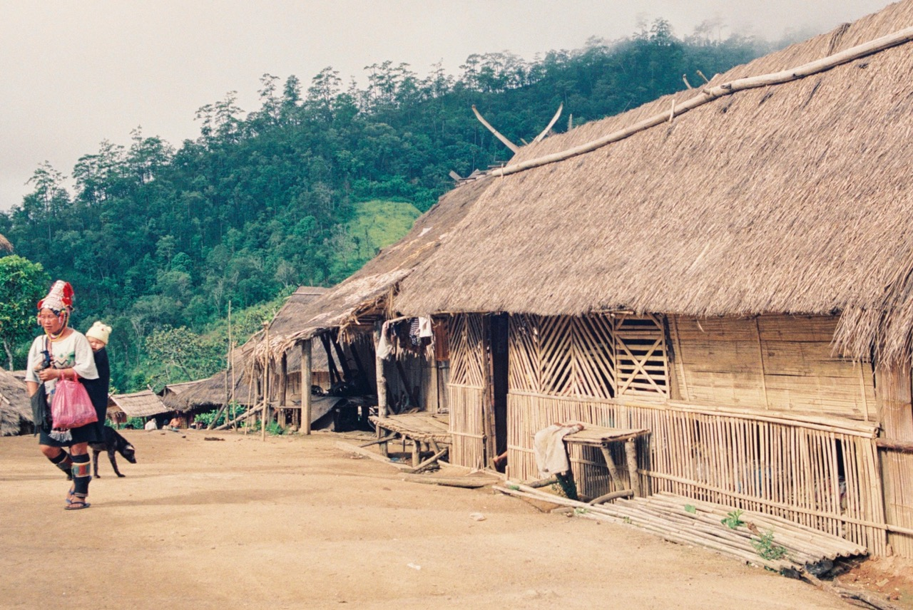 Akha Hill Tribe Village Chiang Rai