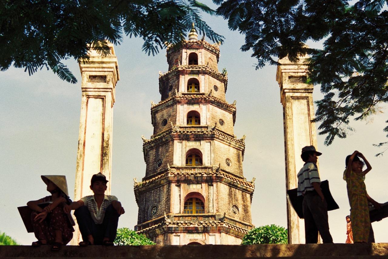 Pagoda of the Celestial Lady, Hue, Vietnam