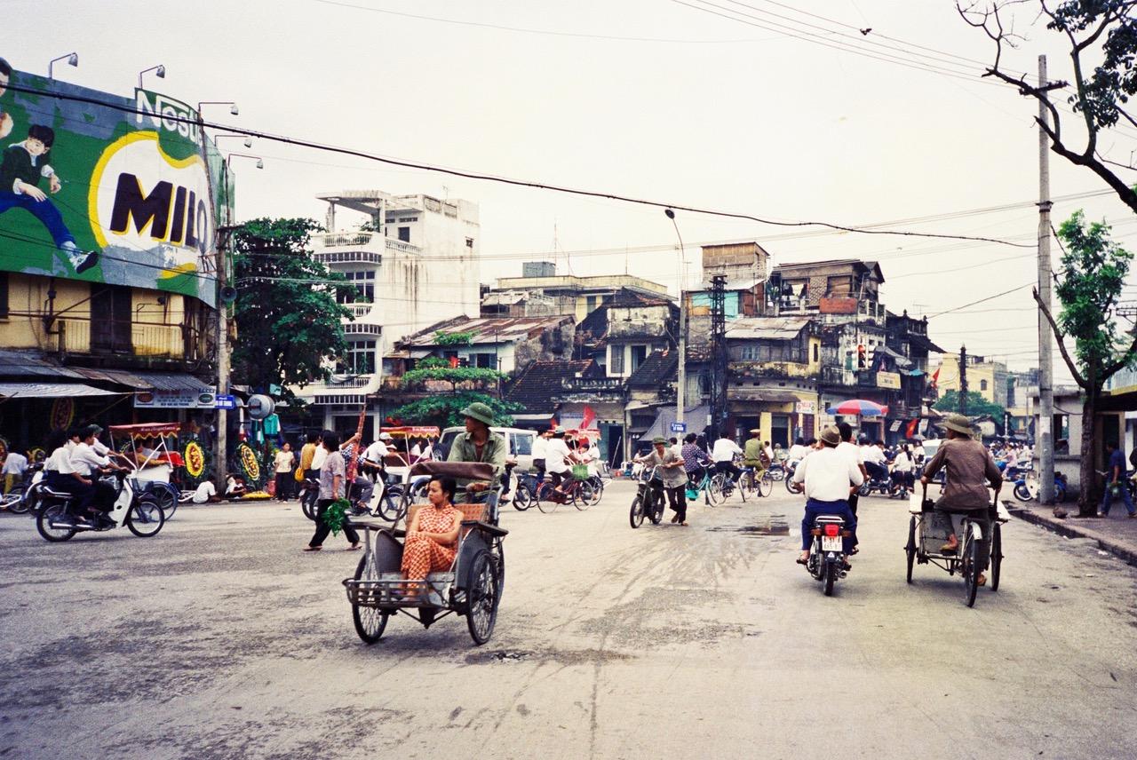 Hanoi street view