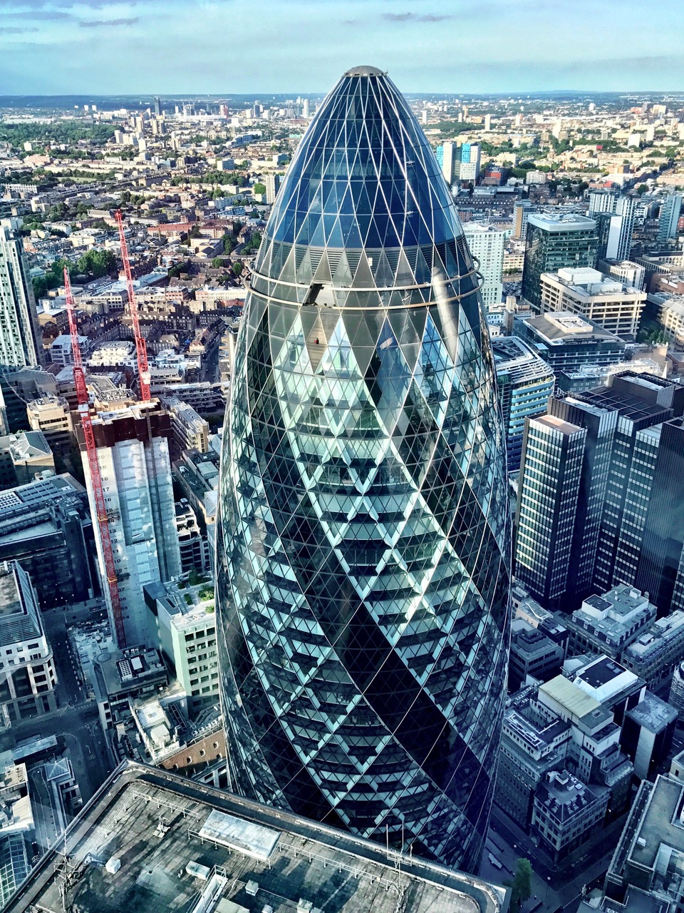 30 St Mary Axe, The Gherkin, London