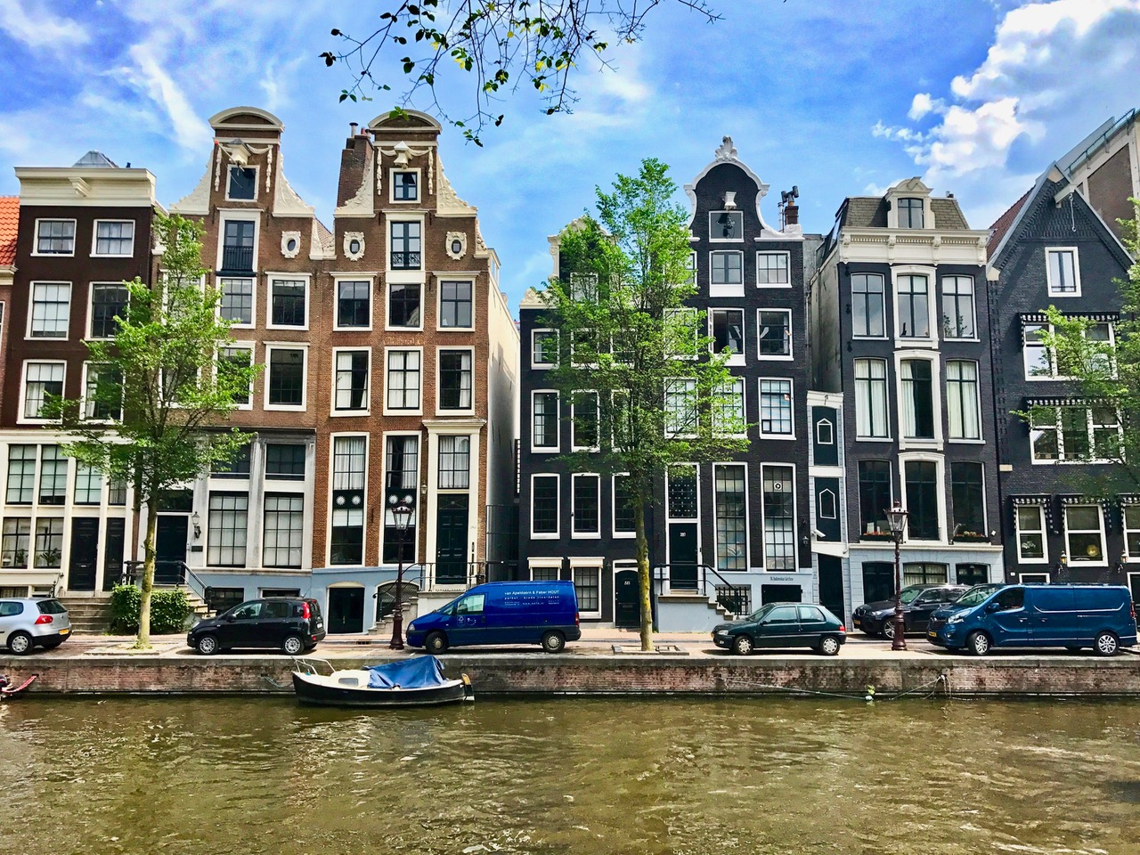 Amsterdam canals, Herengracht, The Netherlands