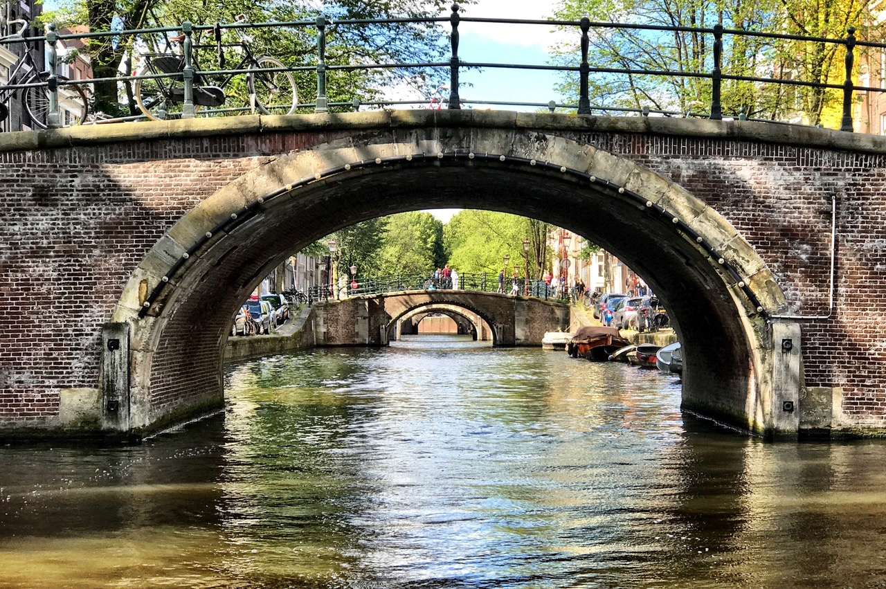 The Seven Bridges of Amsterdam, Reguliersgracht, The Netherlands