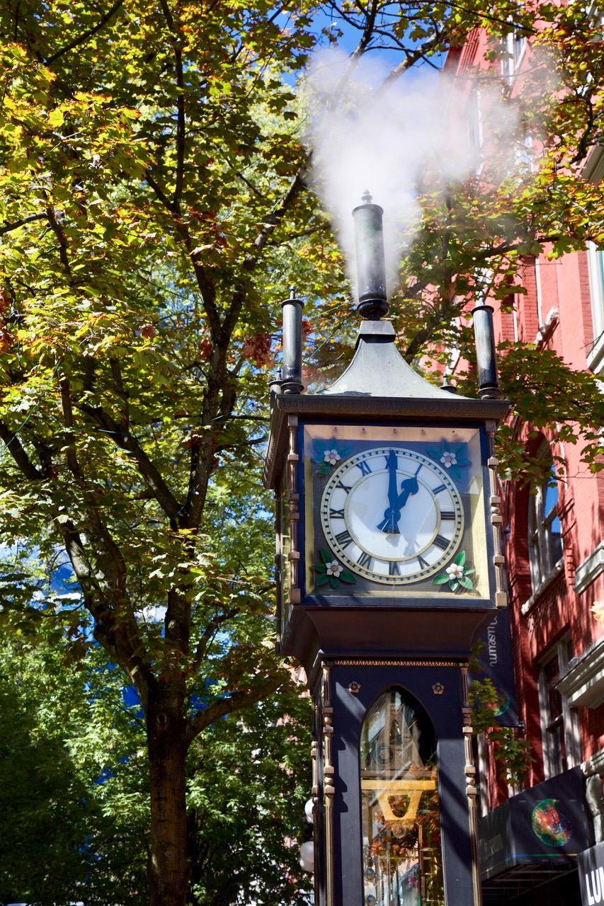 Gastown, Steam Clock, Vancouver