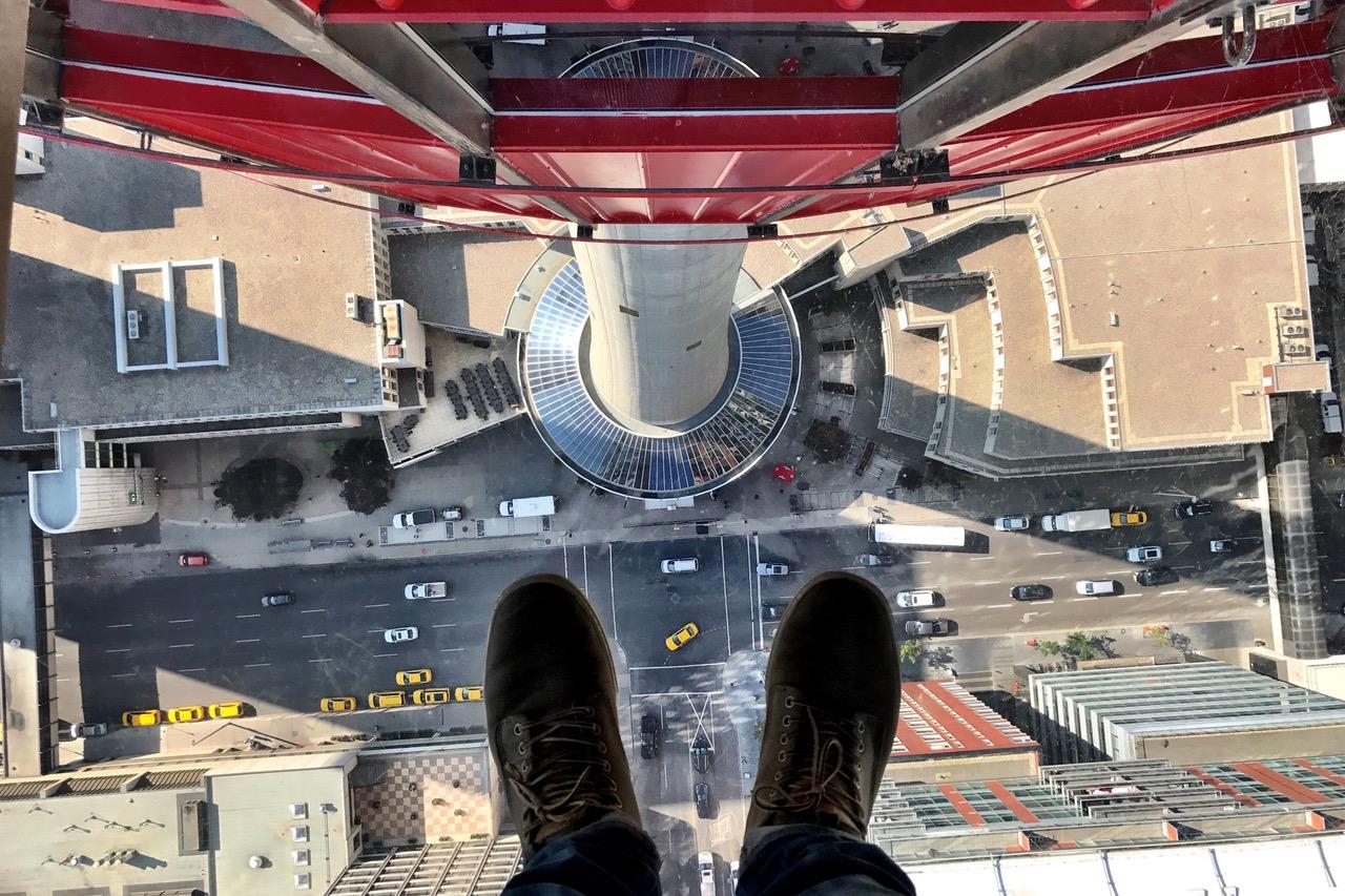 Glass Floor, Calgary Tower, Canada