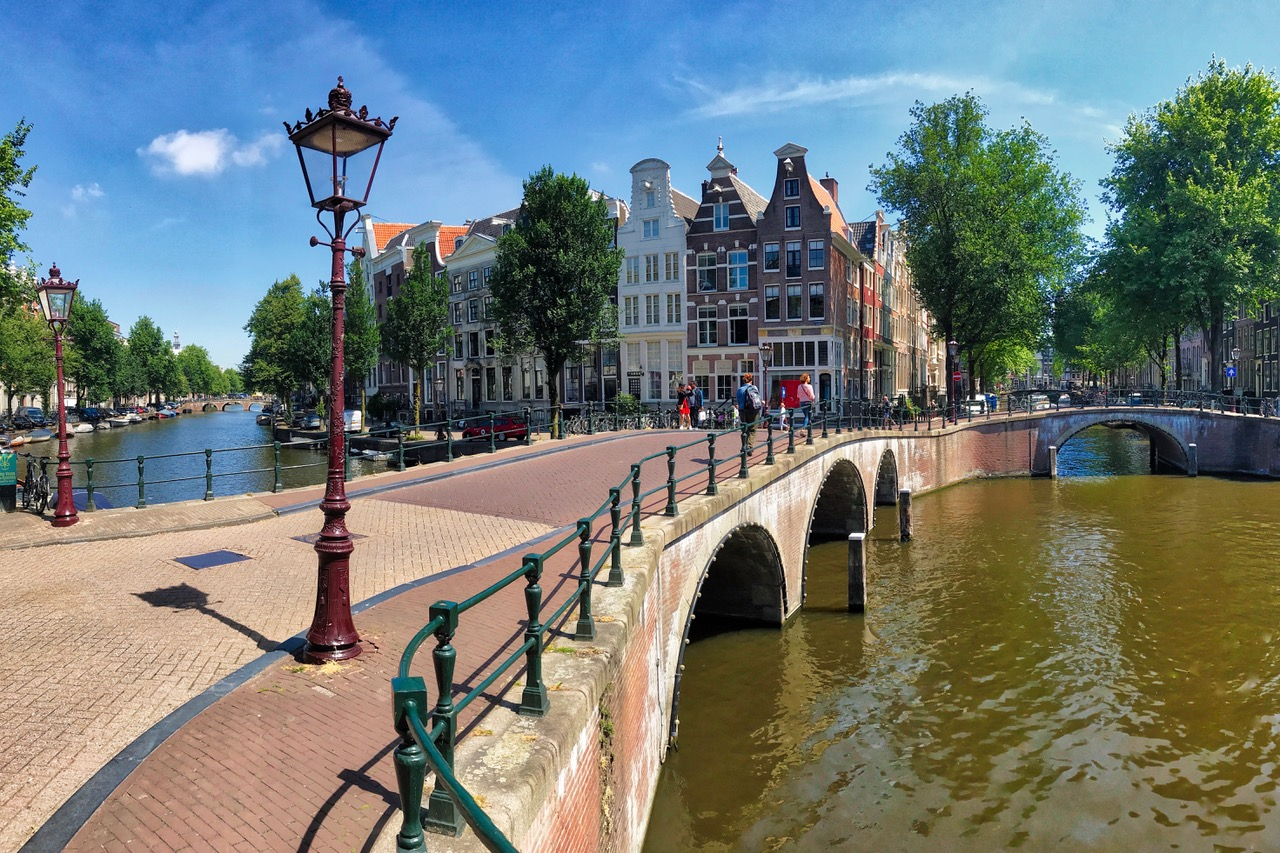 Keizersgracht, Amsterdam Canals, The-Netherlands