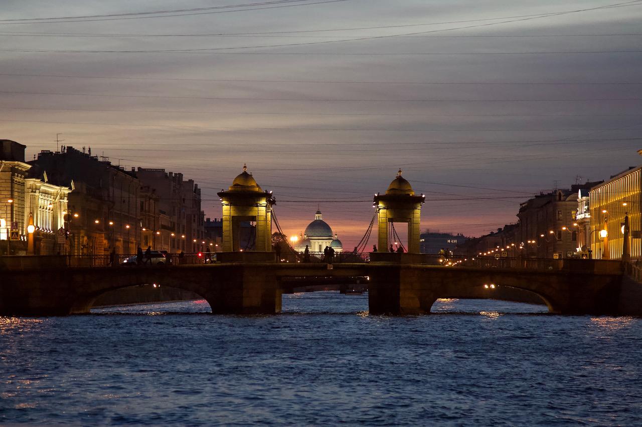 Lomonosov Bridge, St Petersburg