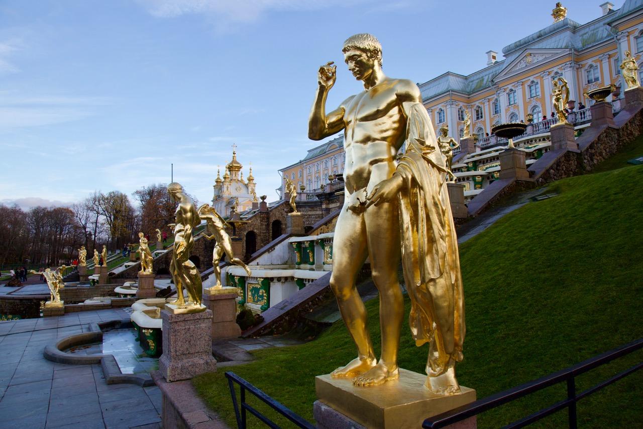 Grand Palace at Peterhof, Russia