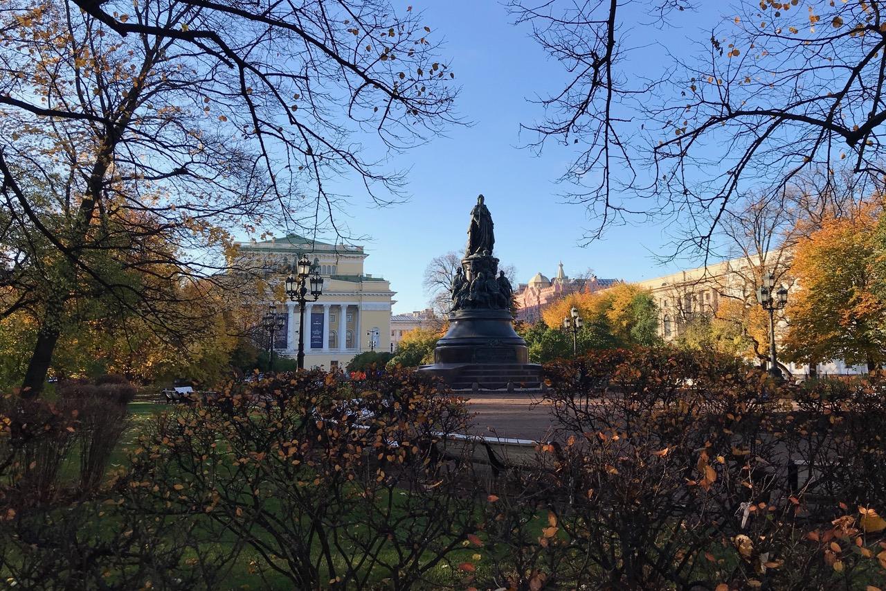 Ostrovsky Square, Nevsky Prospect, Saint Petersburg