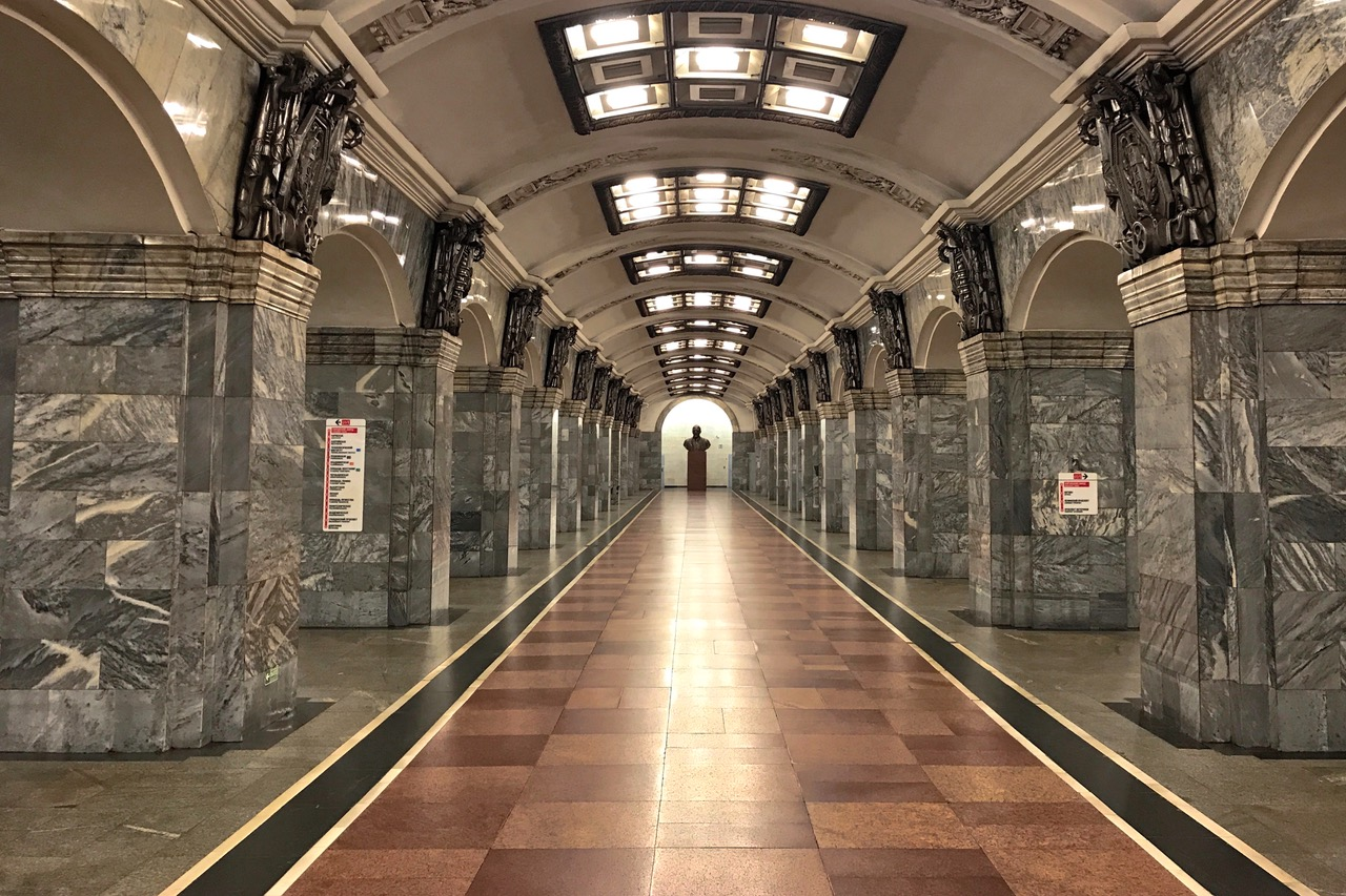 Kirovski Zavod Metro Station, Saint Petersburg