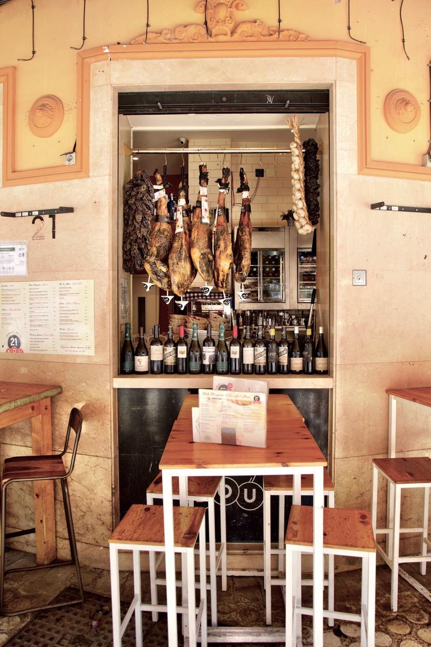 Restaurante Gastrobar 21 Bou, Málaga