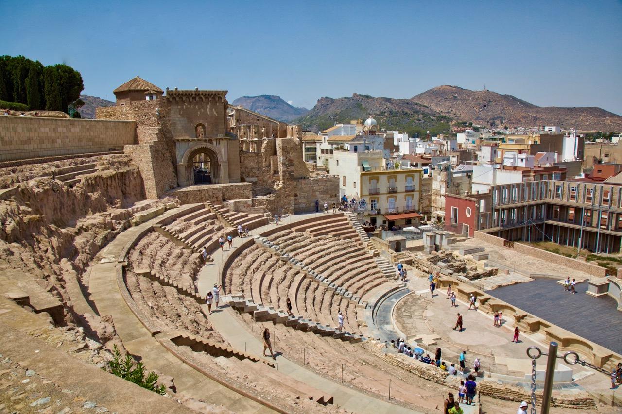 Teatro Romano, Cartagena, Spain