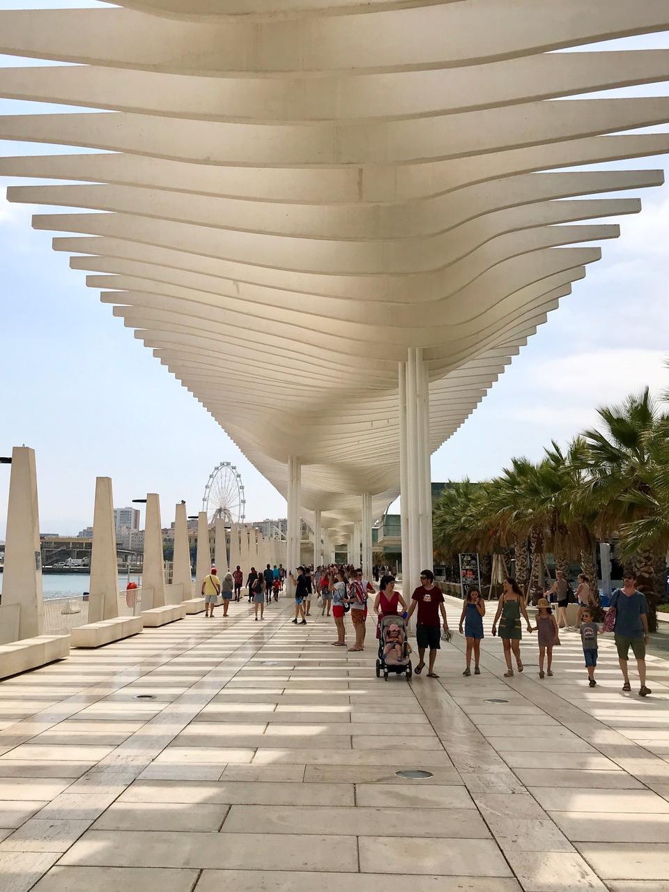 Muelle 3, Puerto de Málaga