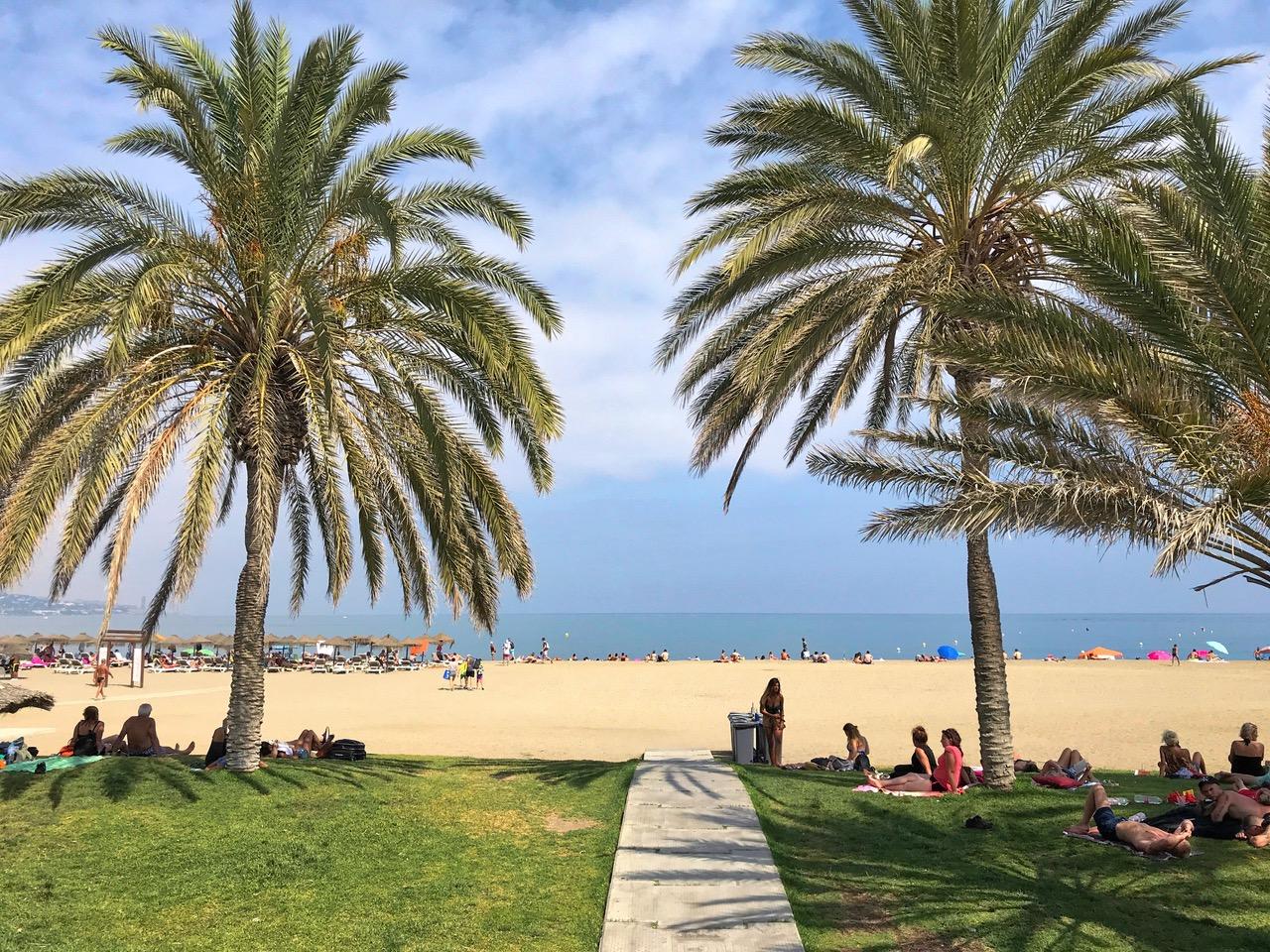 Playa de la Malagueta, Malaga