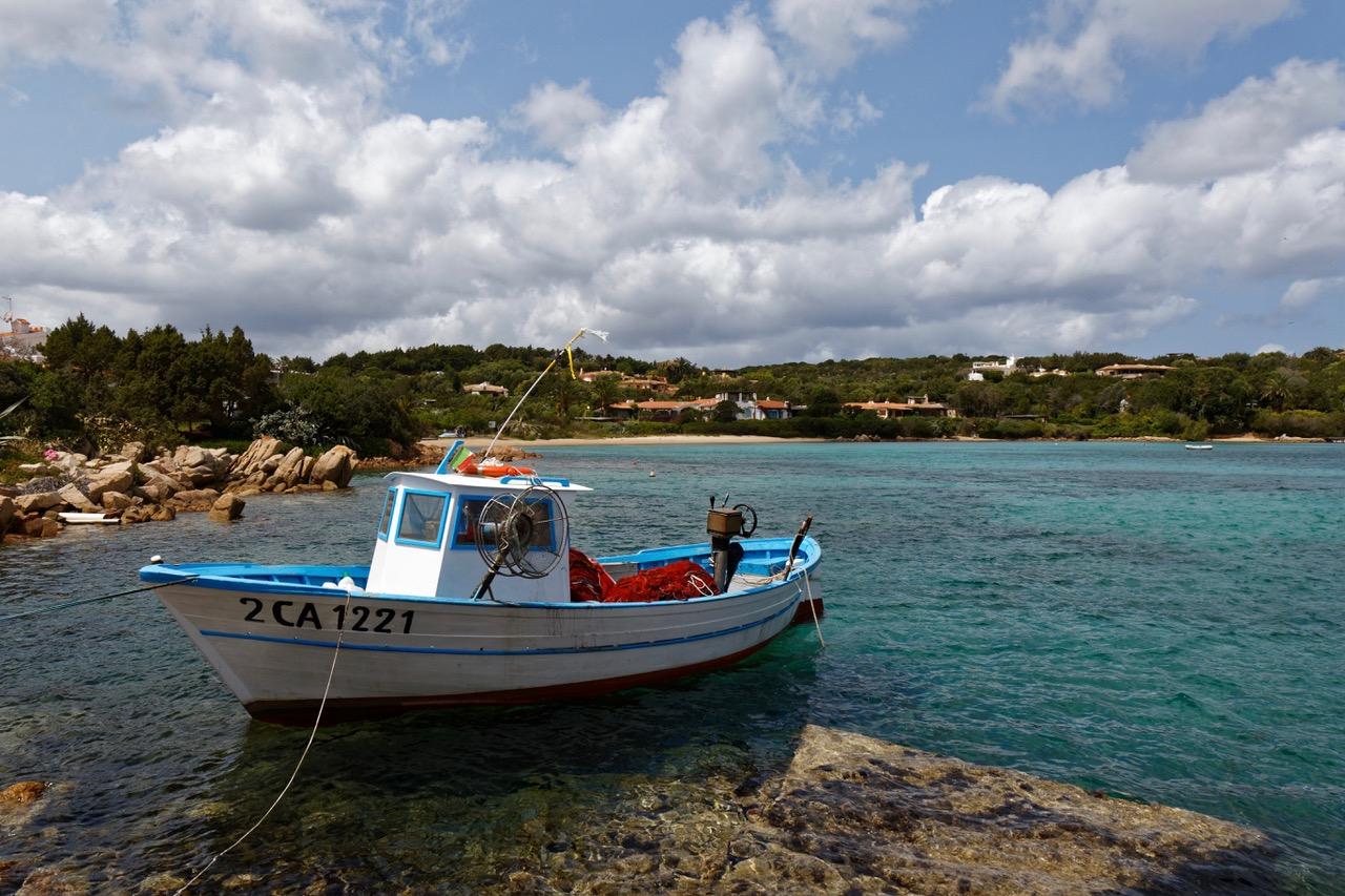 Catch of the day at Porto Cervo harbor, Sardinia