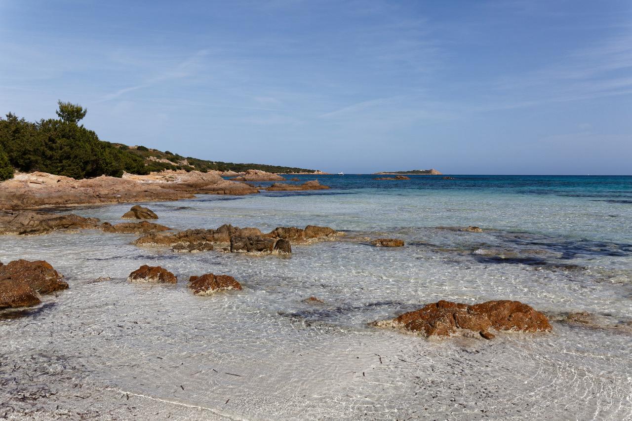 The clear waters of San Teodoro, Sardinia