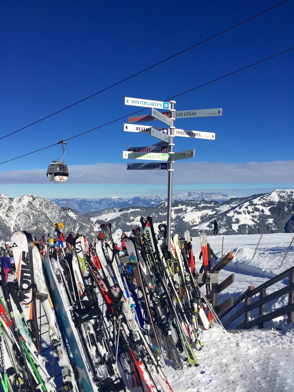 Alpbach ski Austria