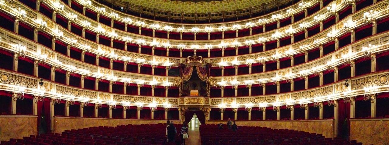 Opera house Teatro di San Carlo in Naples