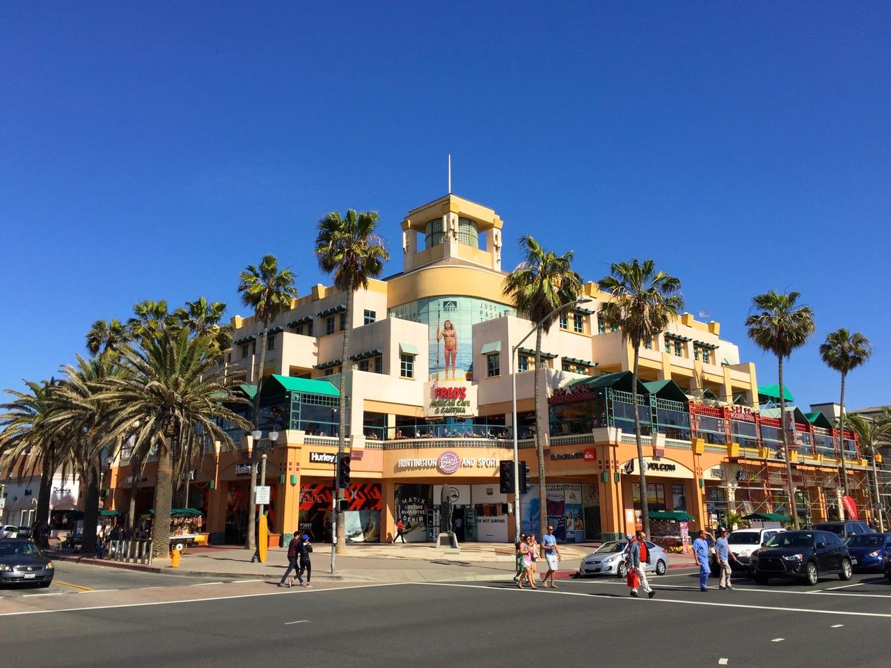 Famous Surf Store in Huntington Beach, California