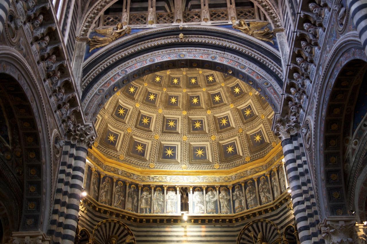 Inside the Duomo di Siena, Italy
