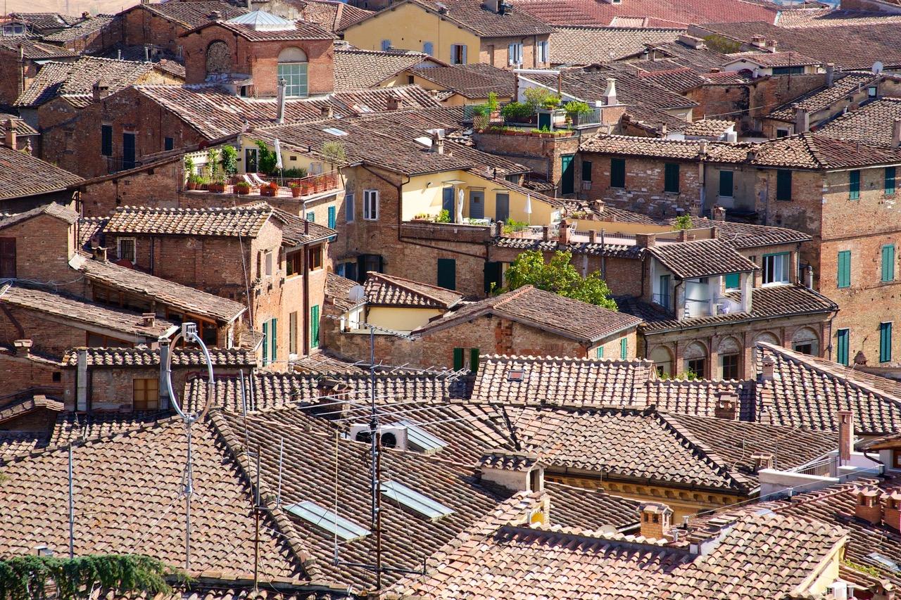 Siena seen from Facciatone