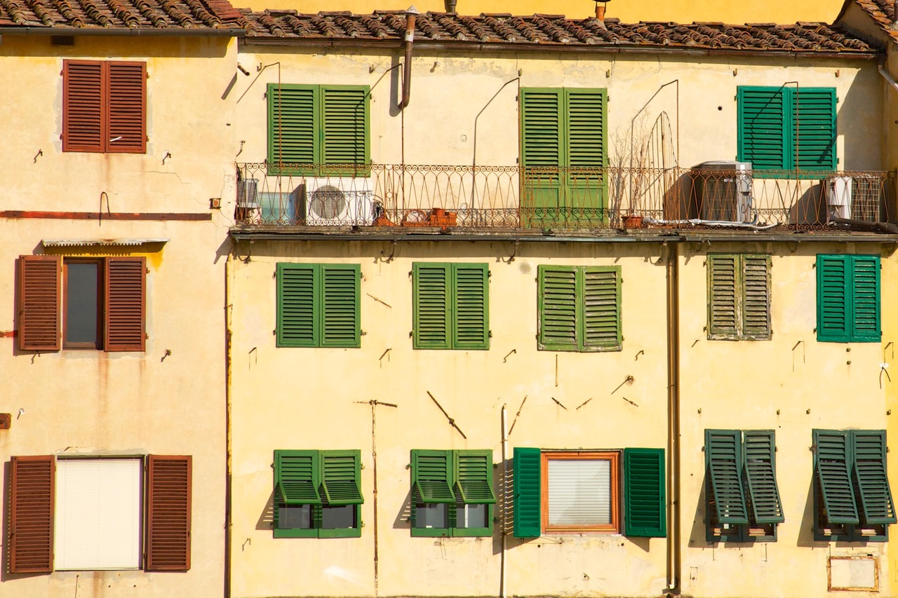 A closer look at Ponte Vecchio in Florence, Italy