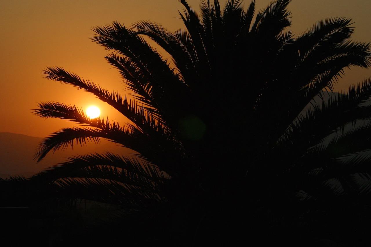 Saint Paul de Vence sunset