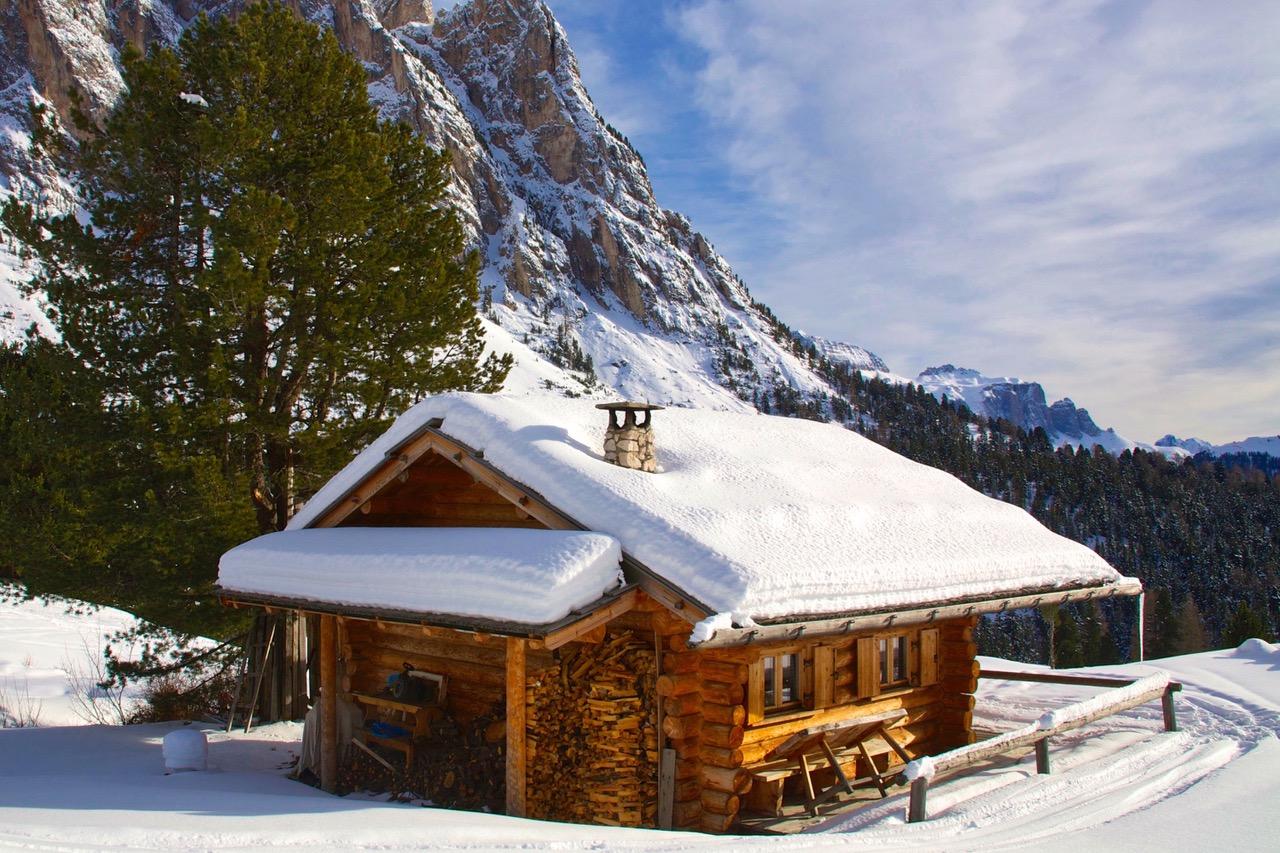 Val Gardena ski hut