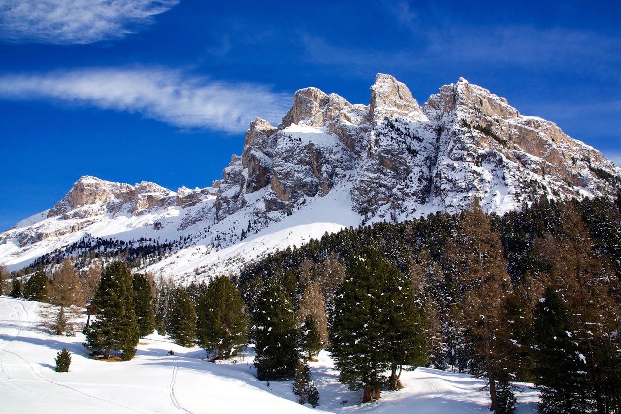 Seceda ski Val Gardena Dolomites