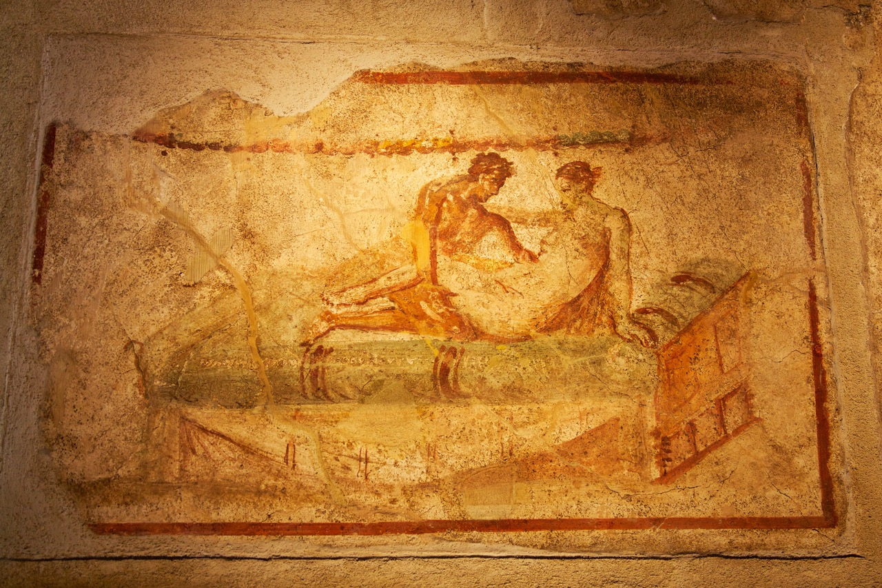 House painting in Pompeii