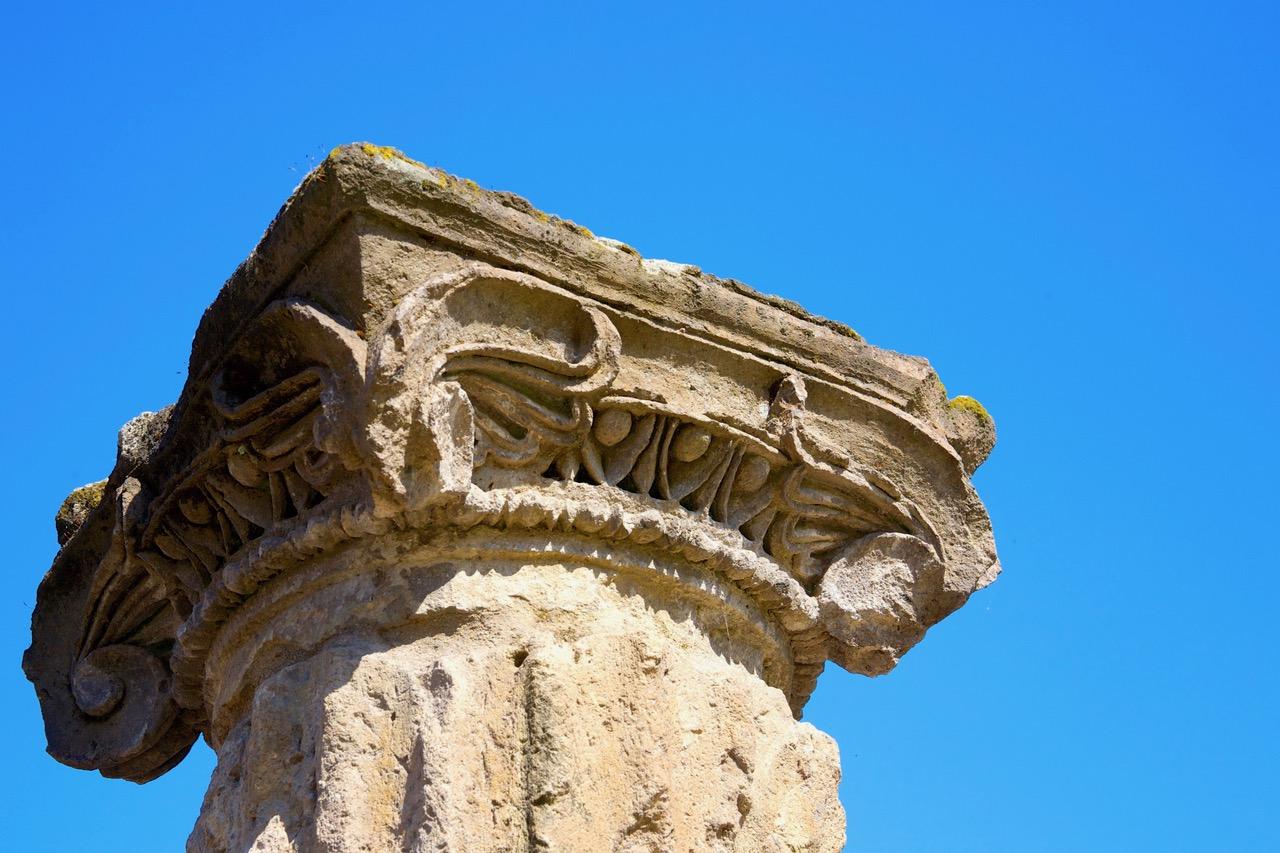 Pompeii pillar