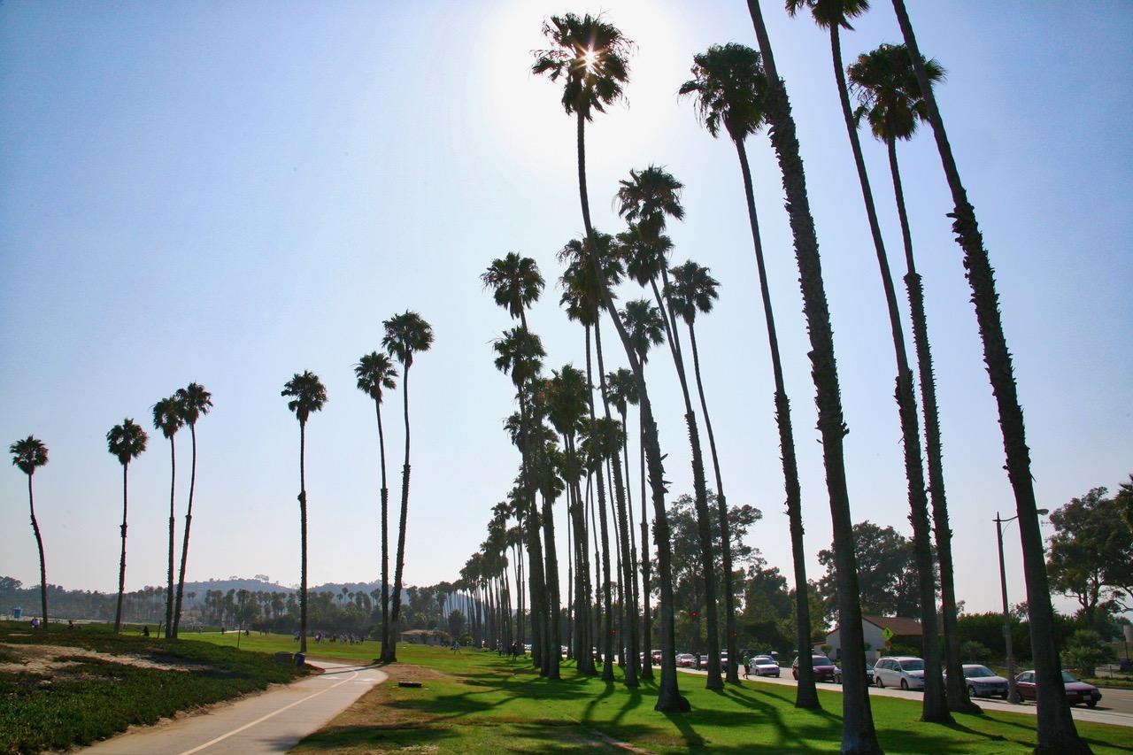 Boulevard of Santa Barbara, USA