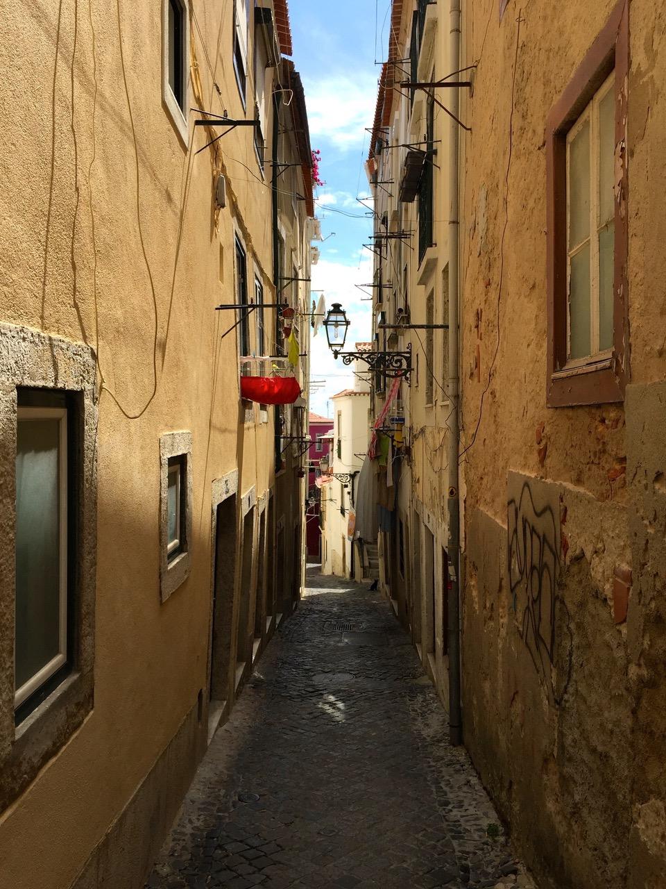 Wandering the streets of Alfama